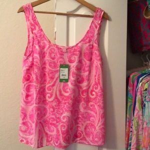 NWT Lilly Pulitzer Cosmos Top